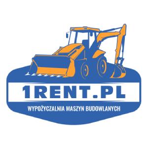 Wynajem koparko-ładowarki Poznań - 1Rent